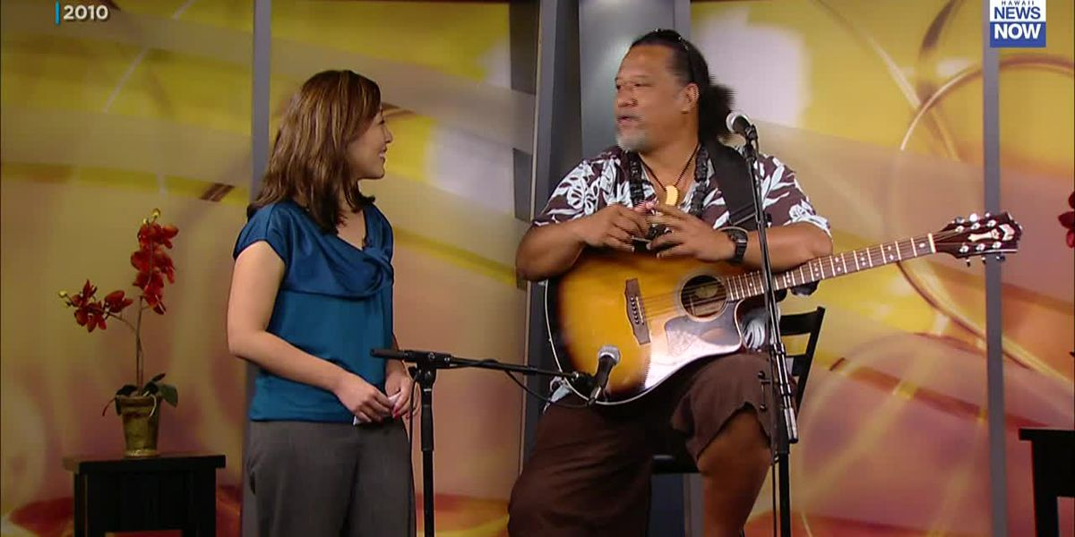 WATCH: Willie K. performs on Sunrise in 2010