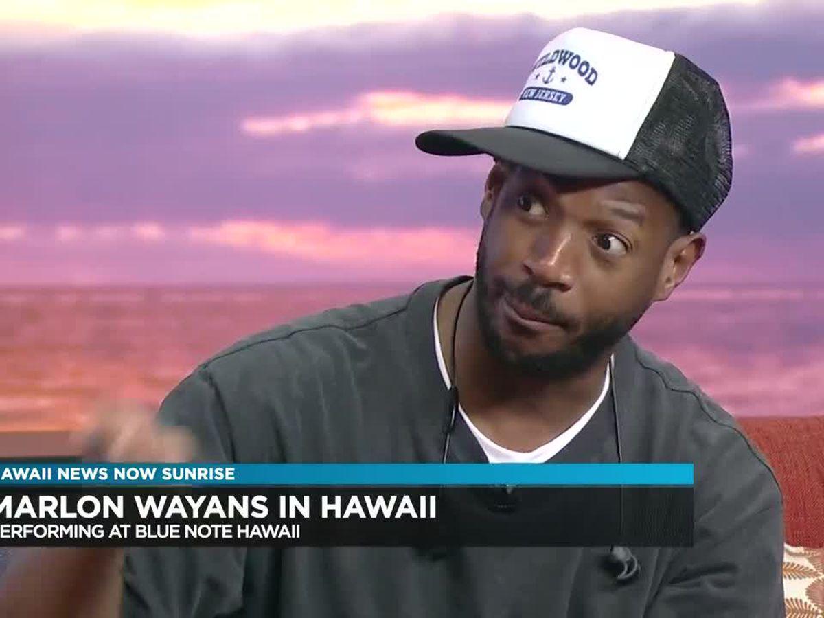Interview: Marlon Wayans back in Hawaii at BlueNote Waikiki