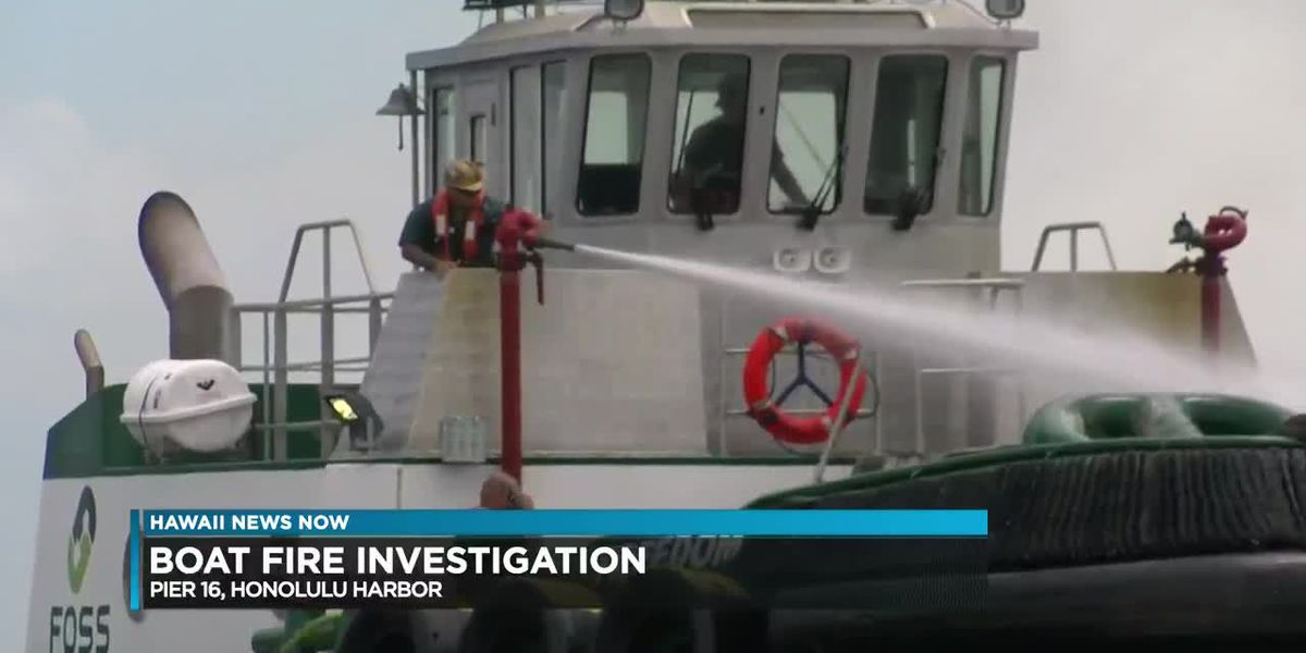 Coast Guard: Blaze on fishing vessel started during Customs inspection
