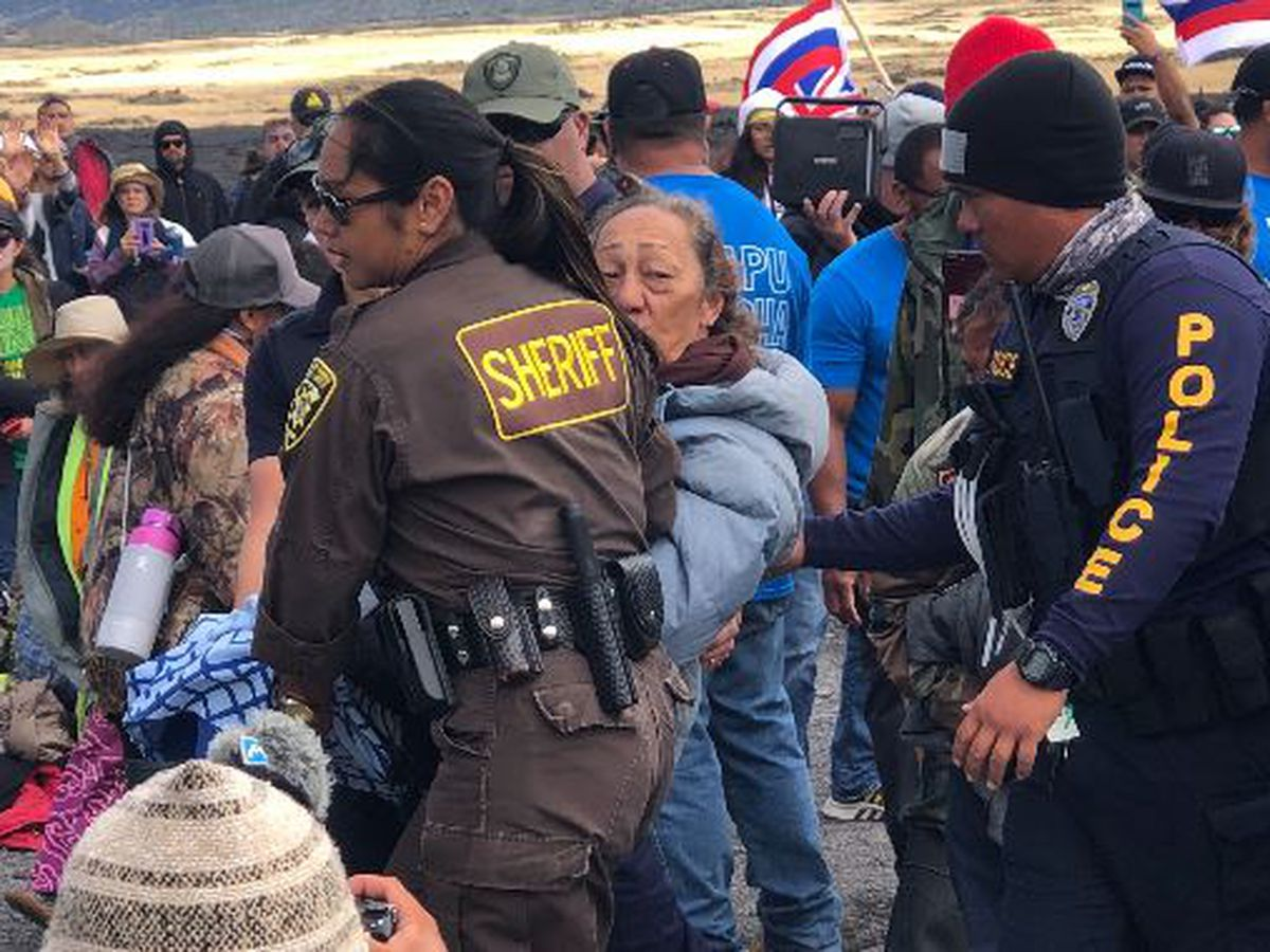 1 month later, police officials detail arrests at Mauna Kea