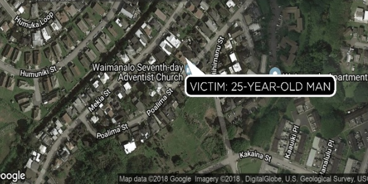 25-year-old man in serious condition with apparent stab wounds