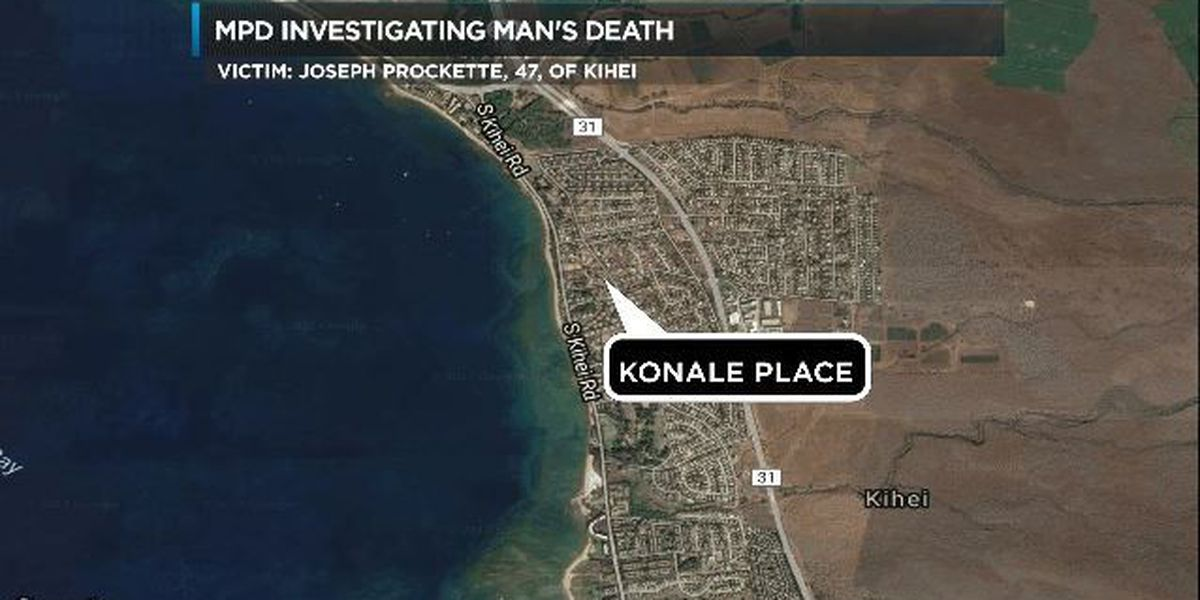 Man found dead in Maui home after apparent carbon monoxide poisoning