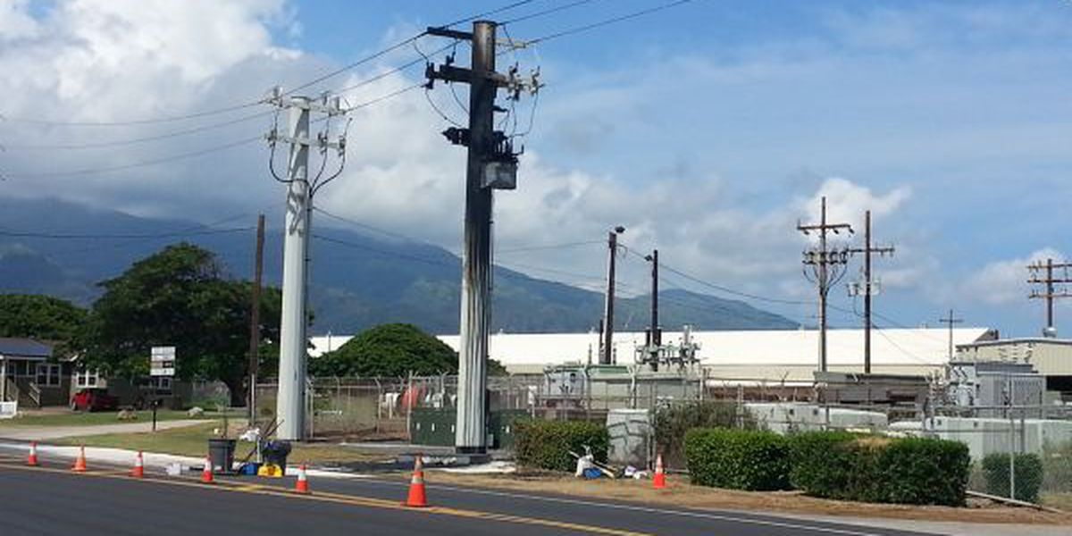 Transformer explosion knocks out power to Maui customers