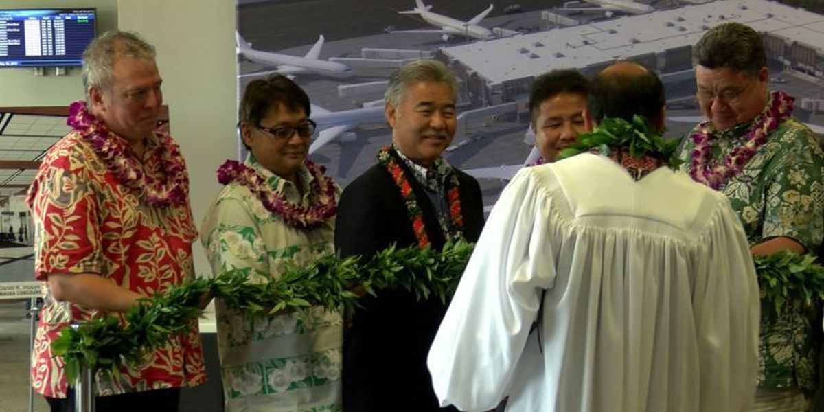 State breaks ground on $220M Mauka Concourse at Honolulu's airport