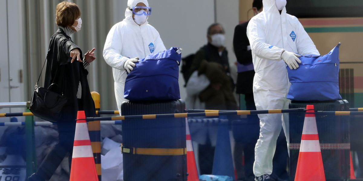 WATCH 'This is Now': Travelers to Japan urged to take precautions as coronavirus cases grow