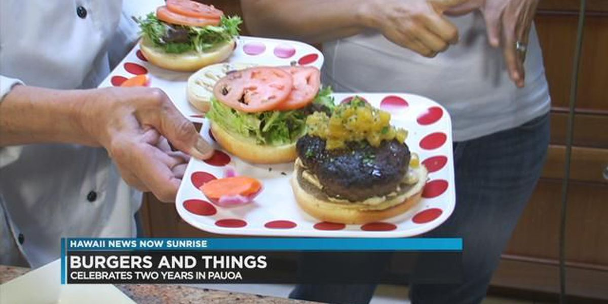 Burgers and Things celebrates 2 years in Pauoa