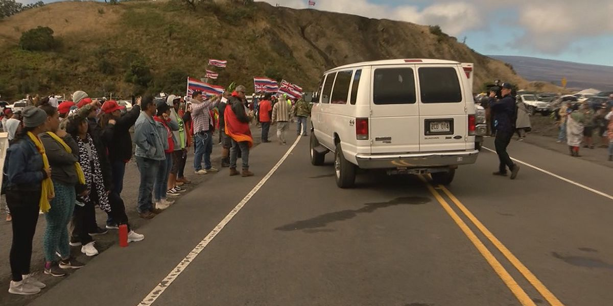 New concerns over law enforcement altitude sickness and shifts at Mauna Kea