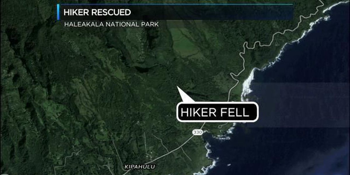 Injured hiker rescued from Haleakala National Park