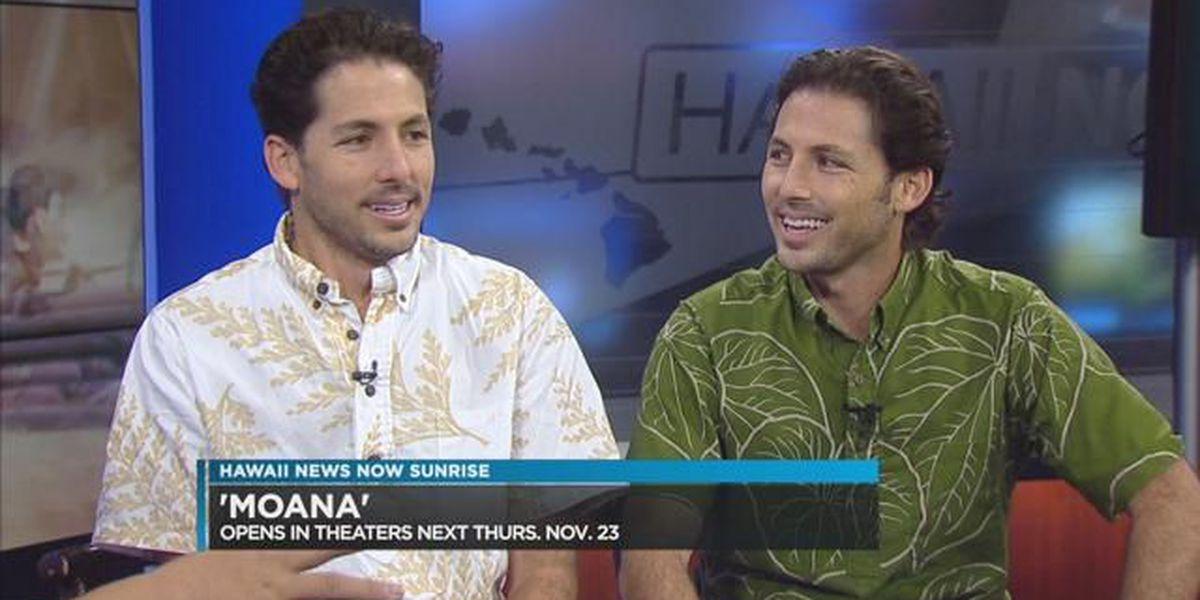 Hawaii brothers write for Disney's 'Moana'