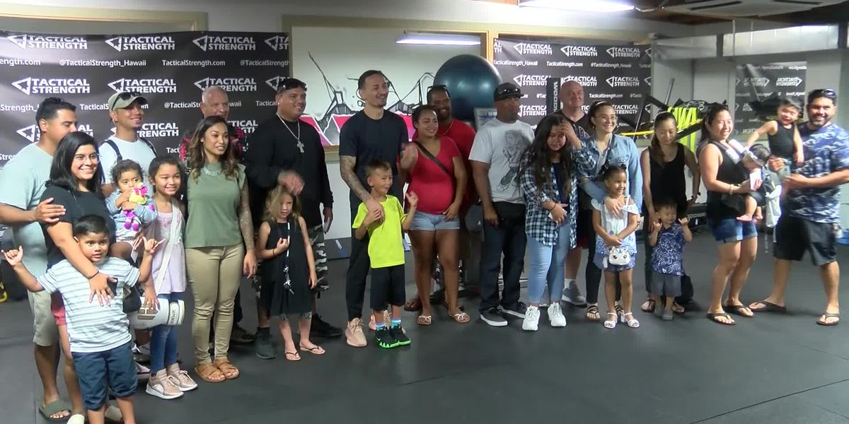 Holloway, UNIQLO honor local fathers recognized as heroes