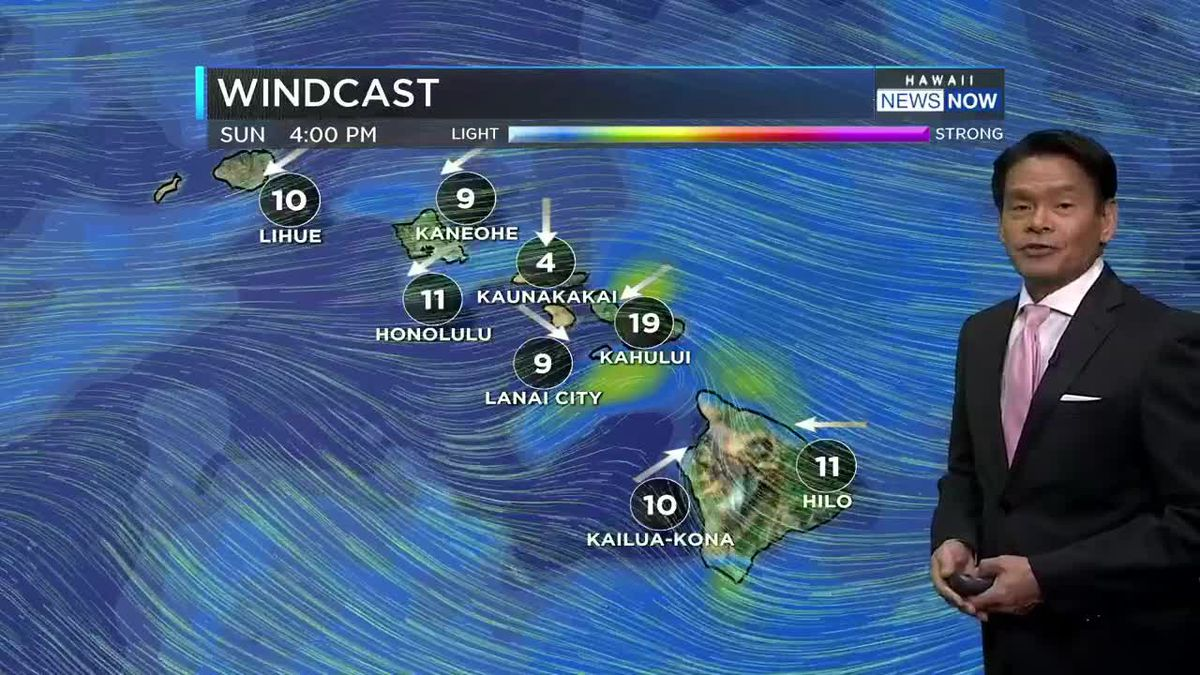 Lighter winds start the 4th of July holiday week