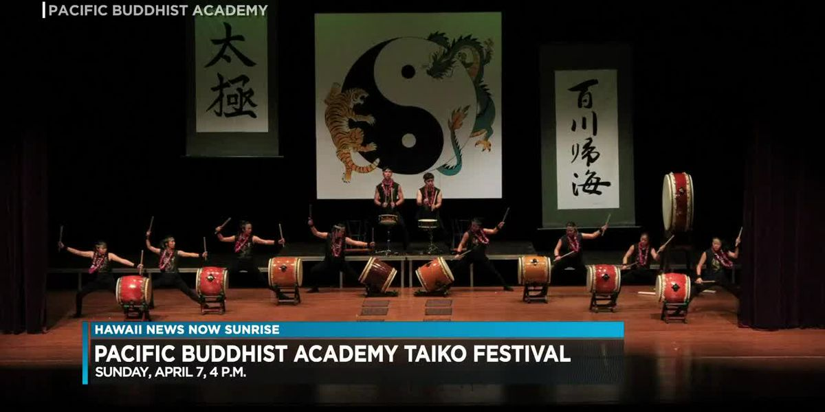 Pacific Buddhist Academy set to hold 13th annual Taiko Festival