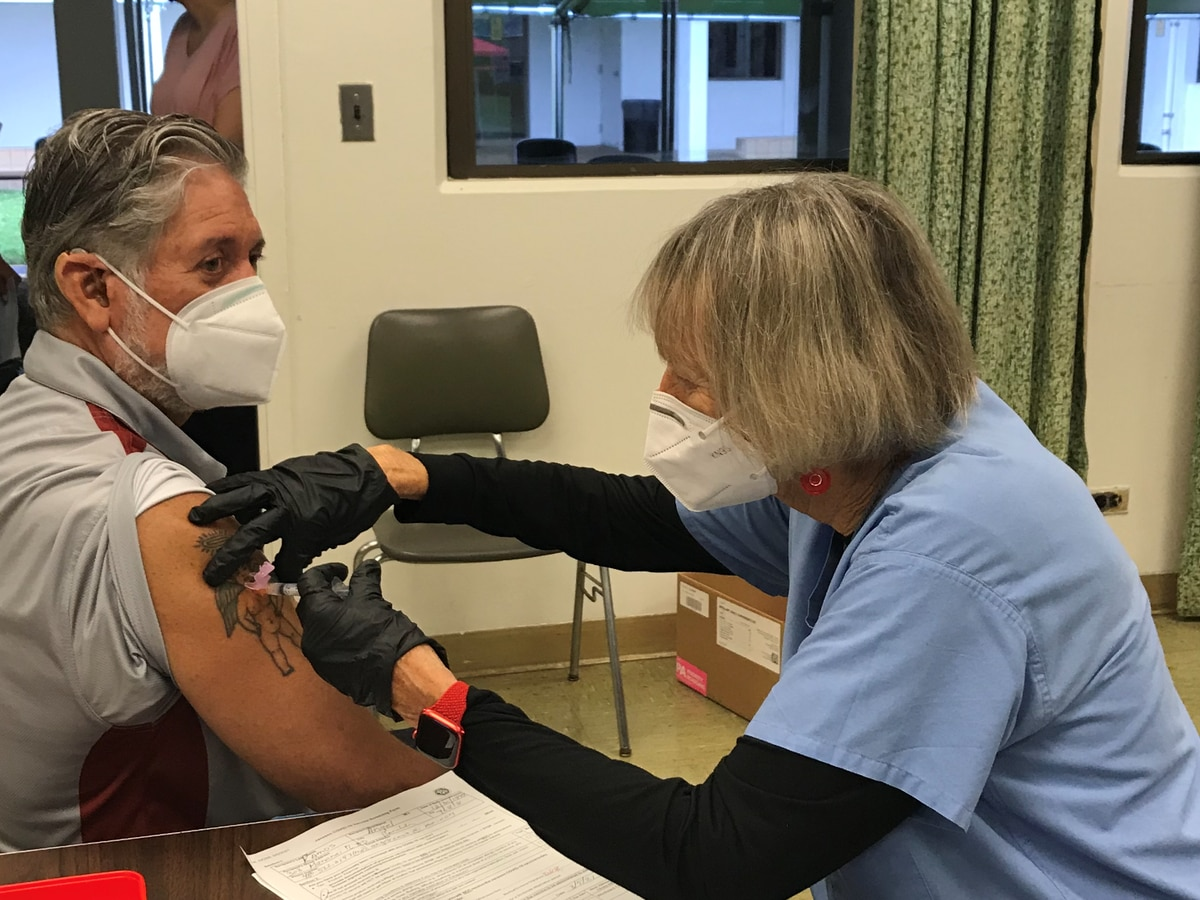 State administers first doses of Johnson & Johnson vaccines to educators