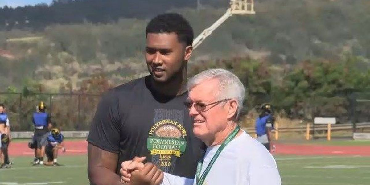 DeForest Buckner offers 2018 Polynesian Bowl players meaningful advice