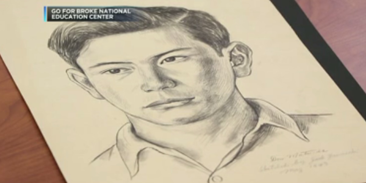 WWII Veteran's family united with hand-drawn portraits seeks other men in sketches