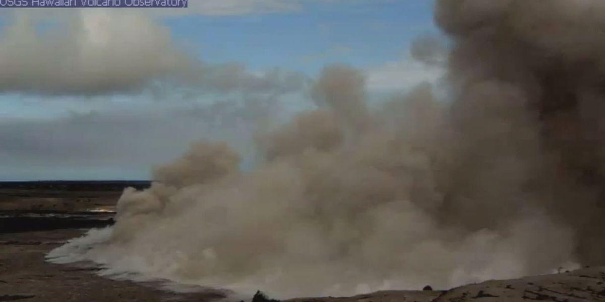 Explosion at Kilauea's summit triggers 5.4-magnitude quake