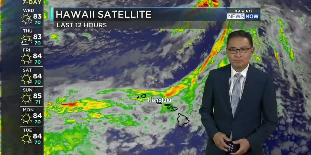 HNN Morning Web Weather Wednesday, April 21, 2021