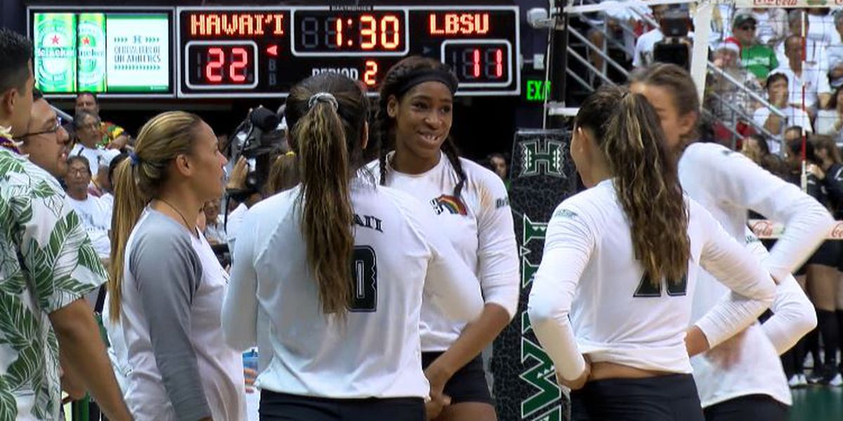Wahine open NCAA tourney against Northern Colorado this Friday