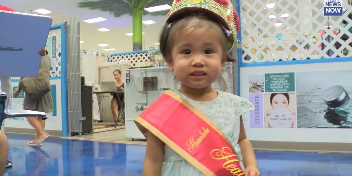 Cuteness overload: Keiki compete in 66th annual Healthy Baby Contest