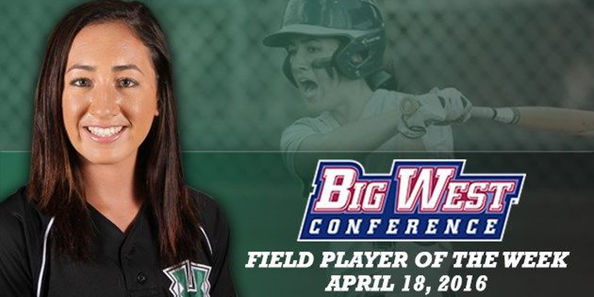 Mata named Big West softball player of the week