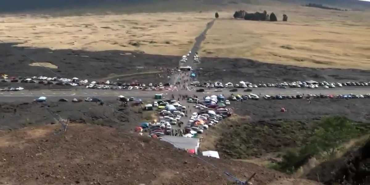 Altitude sickness is sidelining officers assigned to TMT protest on Mauna Kea