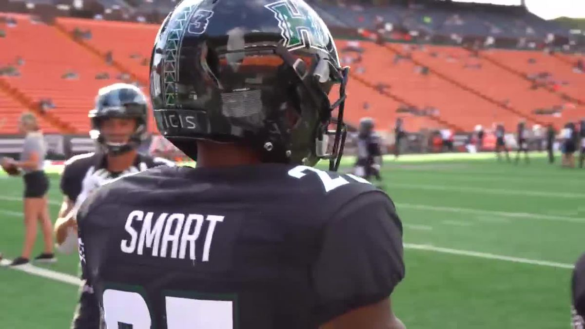 Under The Helmet: Jared Smart