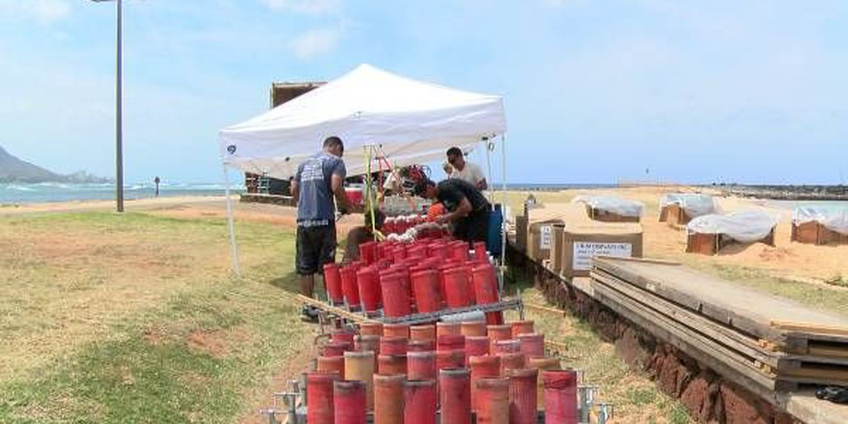 Ala Moana July Fourth show to feature new 'waterfall' fireworks