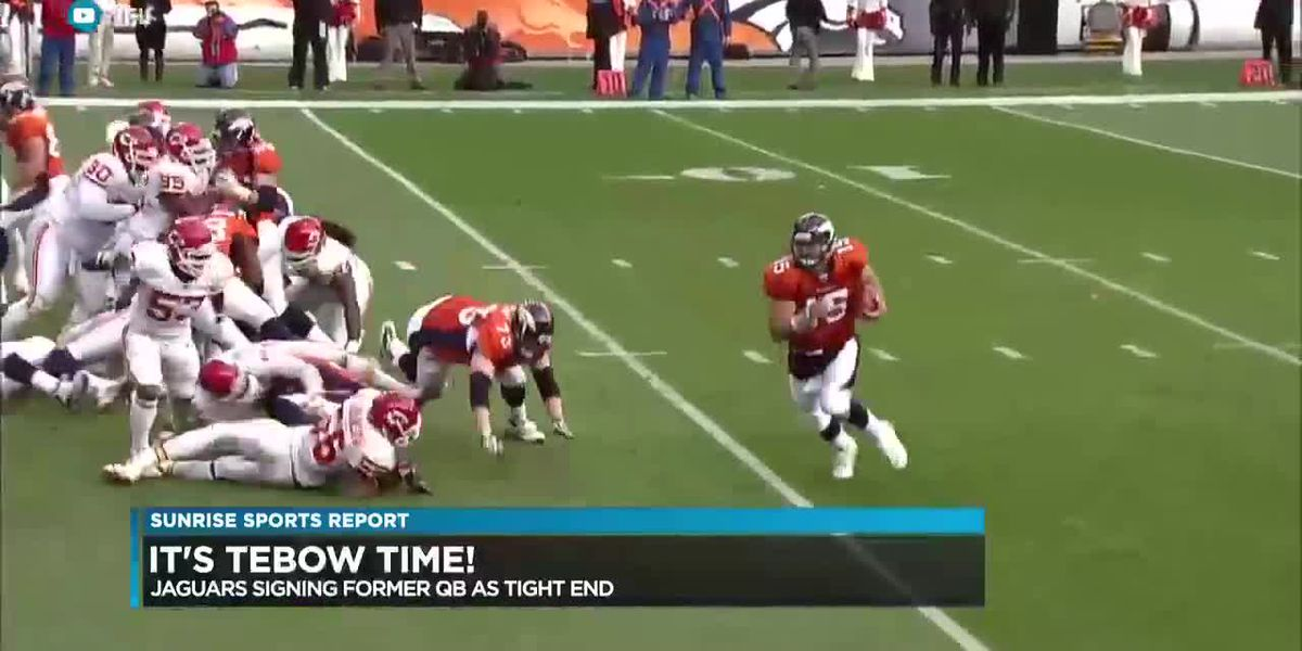 Sunrise Sports: Tebow the tight end, Westbrook sets record, Shoutout to Lyn Nakagawa