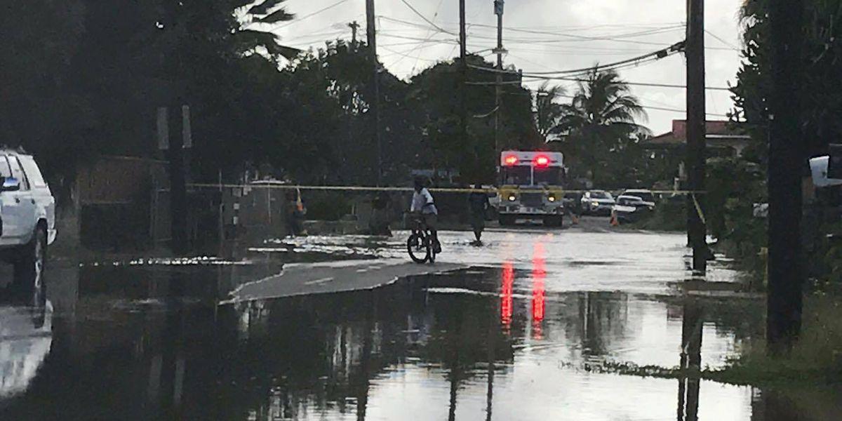 Large water main bursts in Ewa Beach