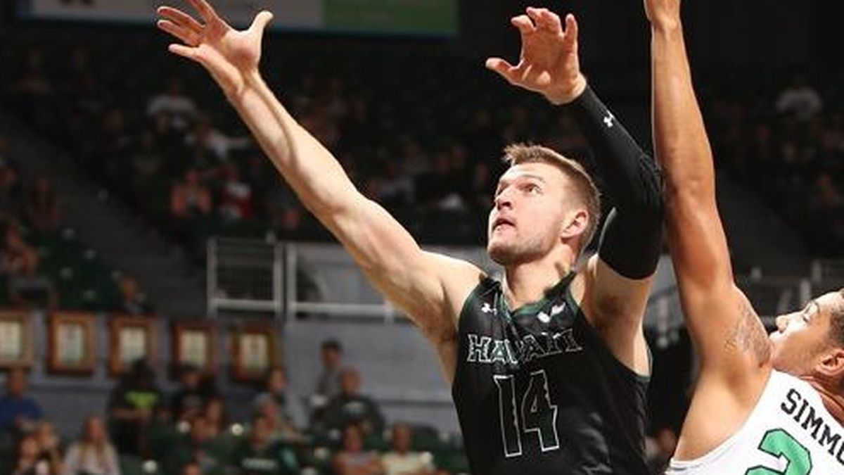 North Texas shuts down Hawaii, 68-51