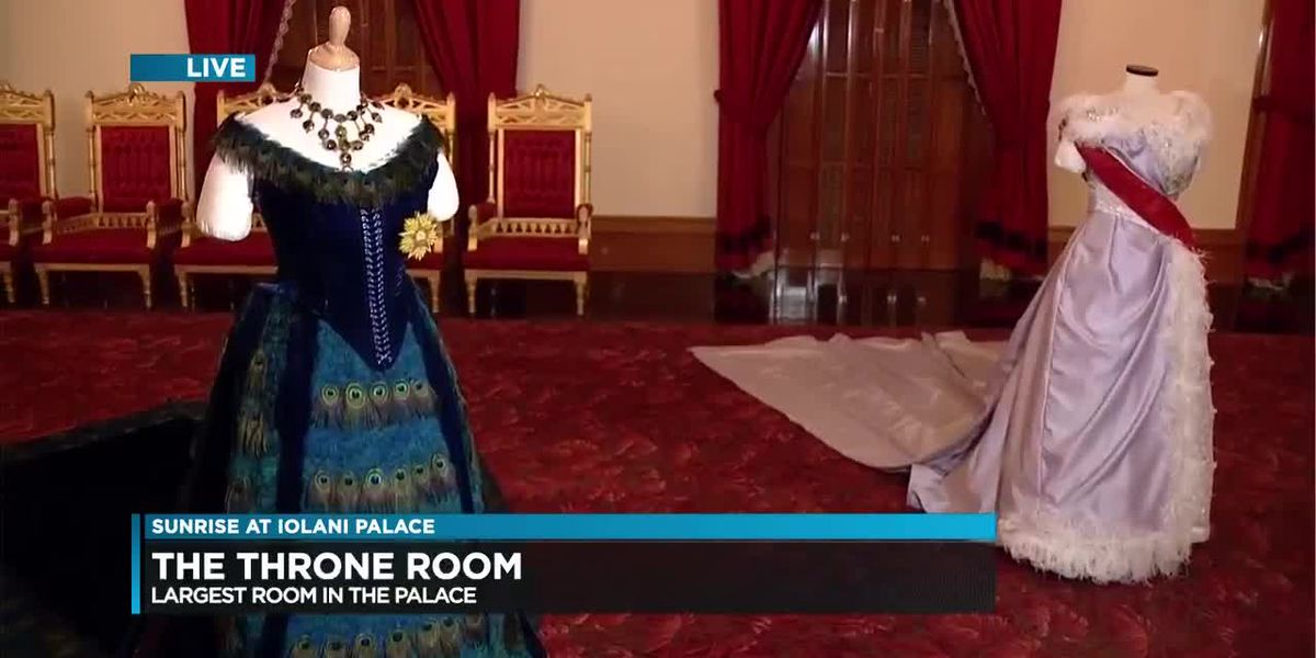 A tour of Iolani Palace's incredible throne room