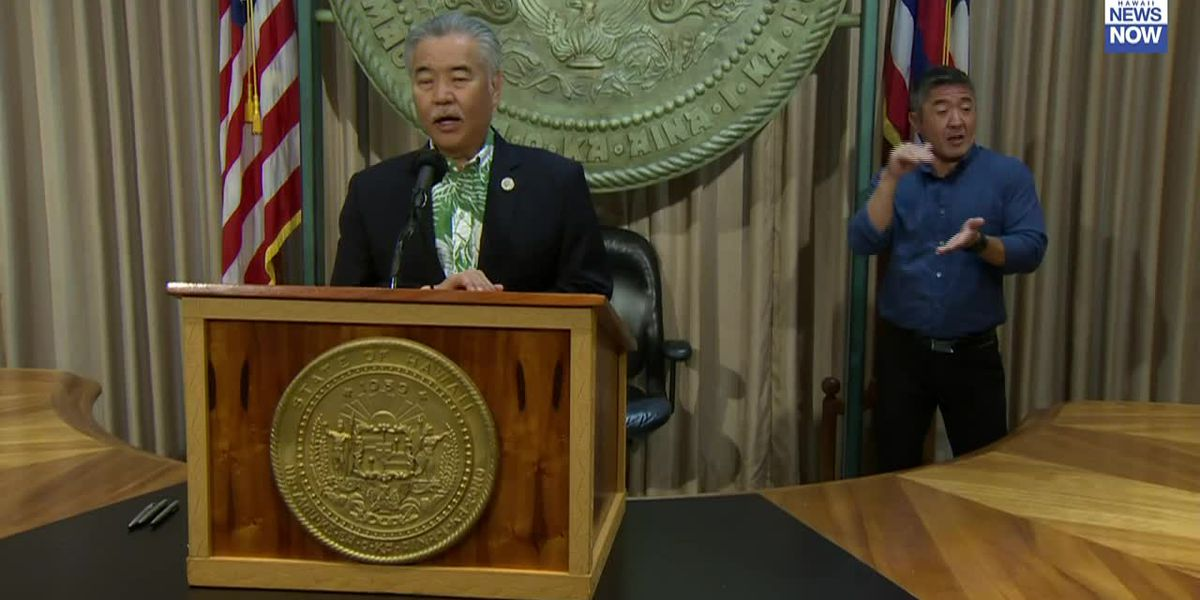 Governor Ige says there is still no timeline on when a vaccine passport could be used in Hawaii