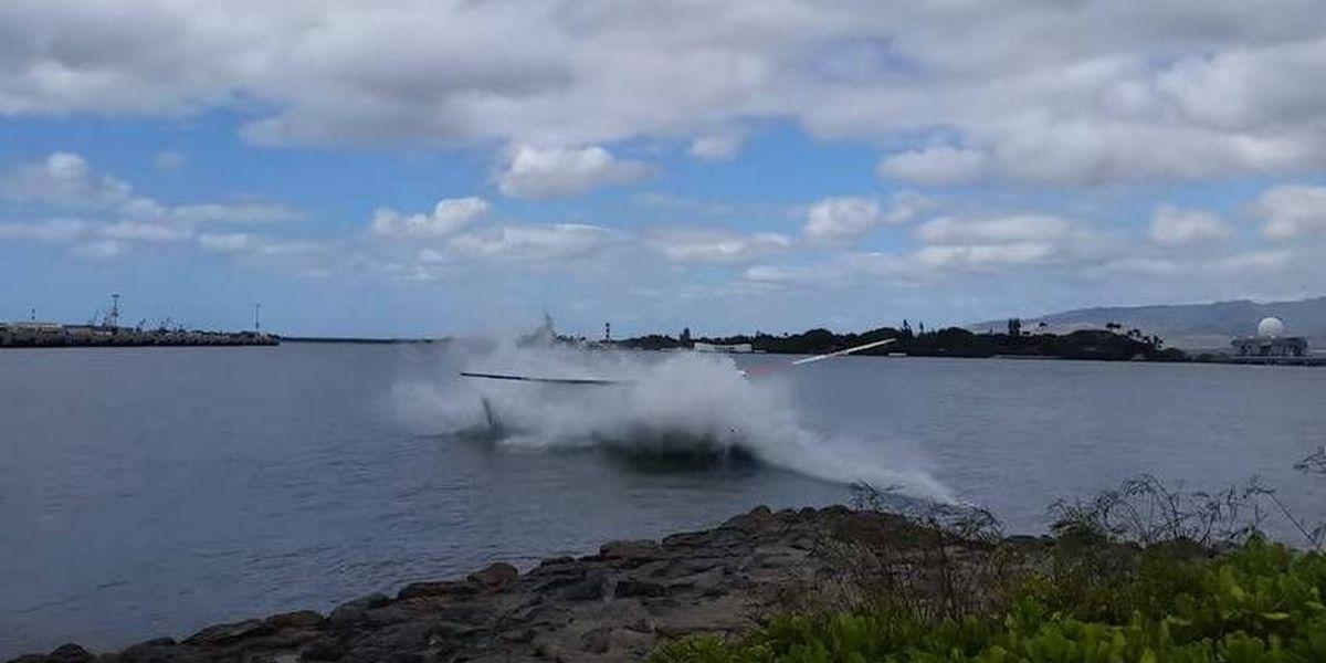 NTSB: Tour chopper pilot heard 'grinding noise' before crash into Pearl Harbor