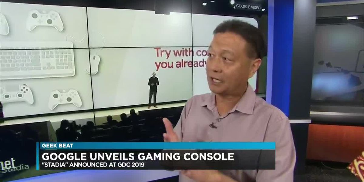 Geek Beat: Google gaming console, UH gaming computers, new Apex Legends character