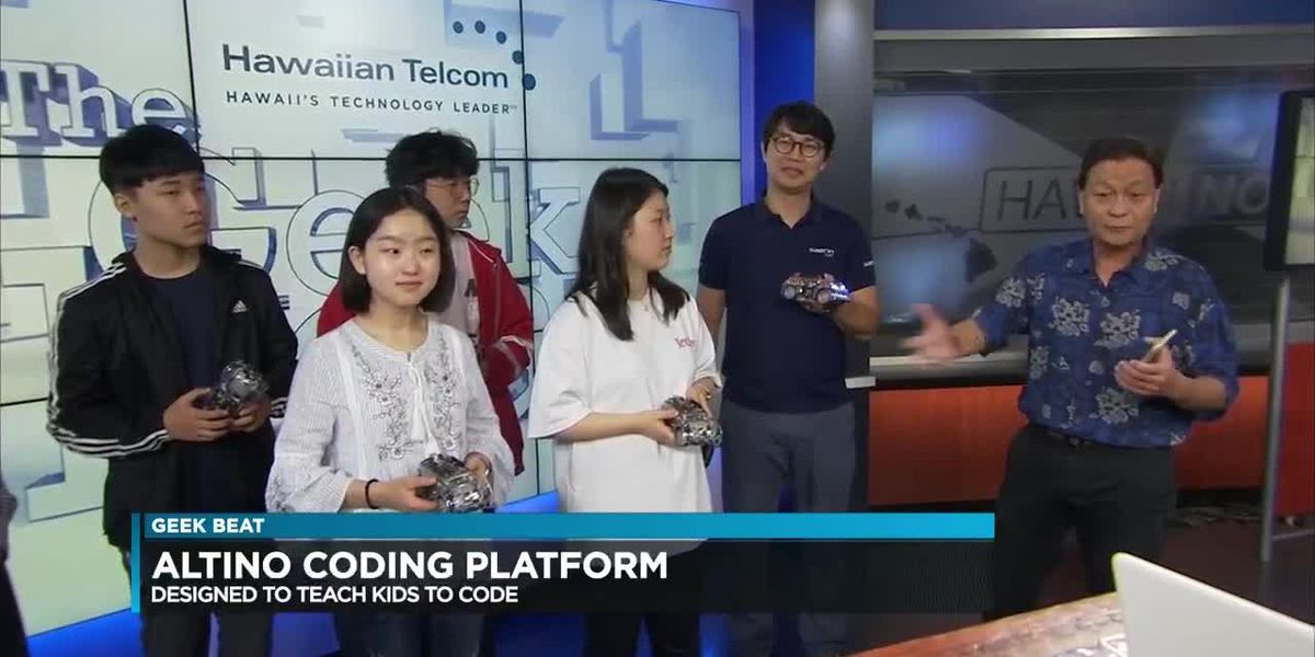 Geek Beat: Students use coding to move Altino cars