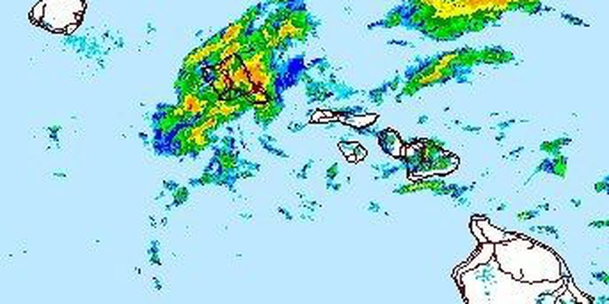 Flash Flood Watch remains posted for threat of heavy rain from Wali