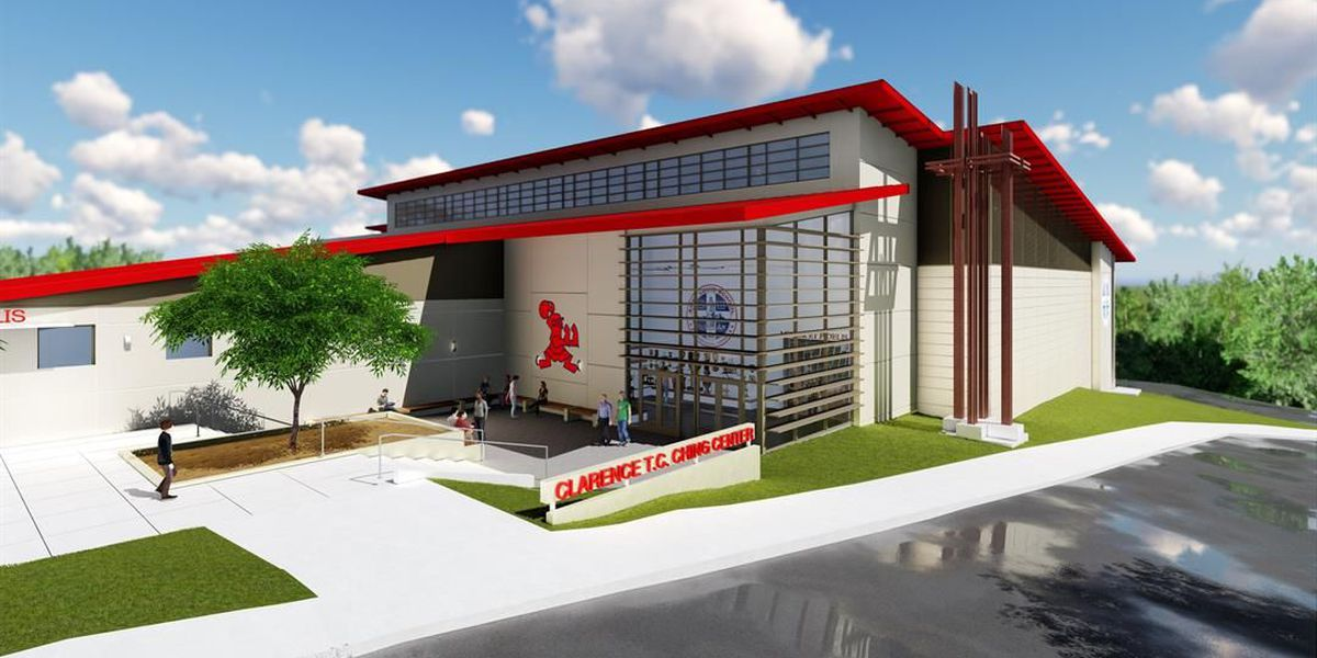 Saint Louis School receives $7.5 million donation, breaks ground on Clarence T.C. Ching Athletic Center