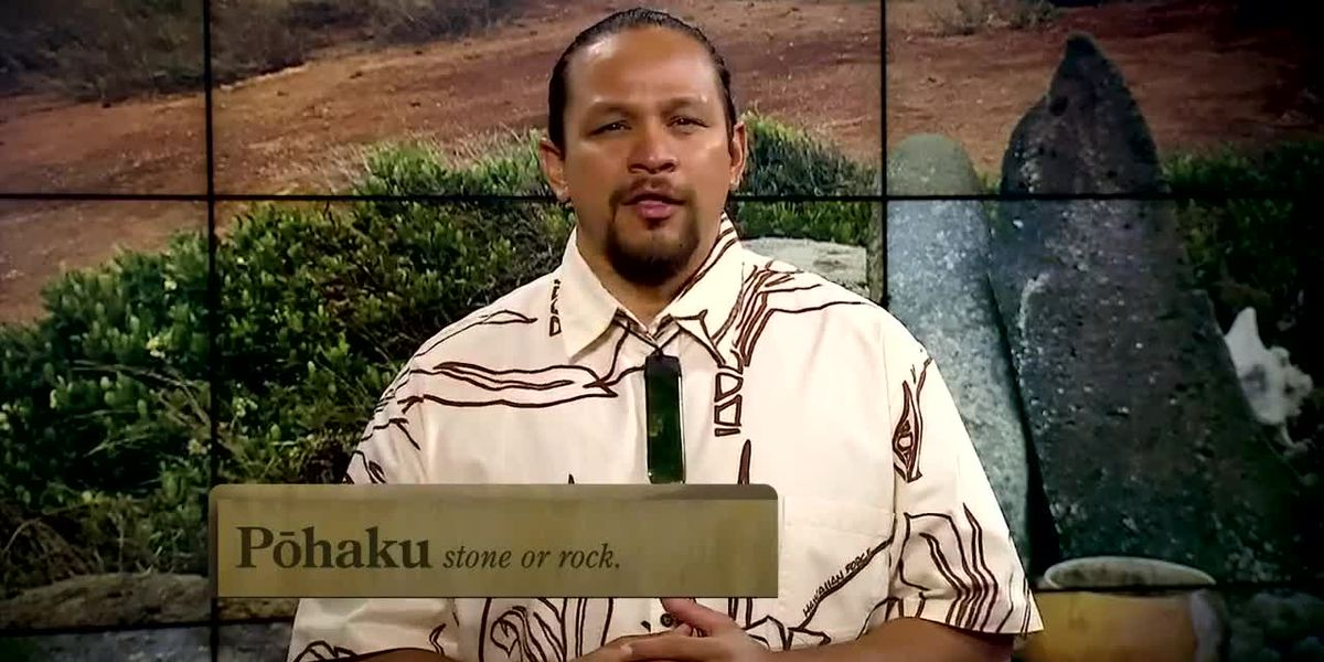 Hawaiian Word of the Day: Pohaku