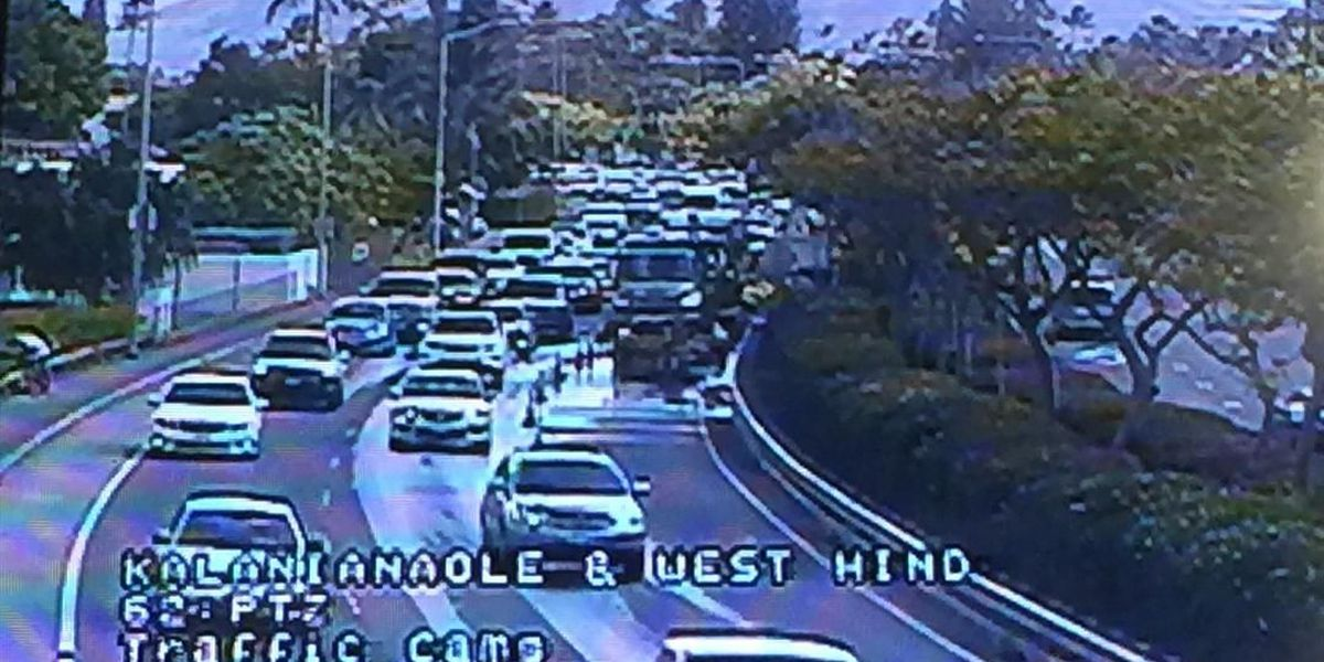 Traffic, water back to normal after Aina Haina main break fixed