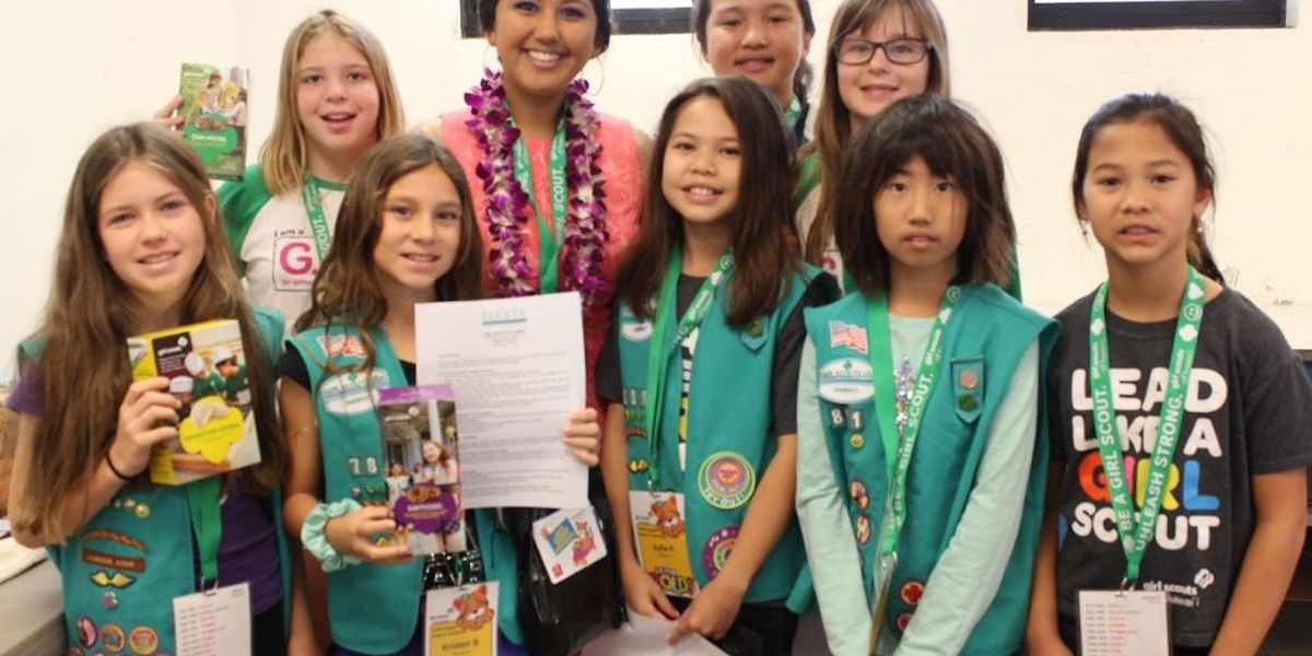 Local Girls Scouts kick off cookie season