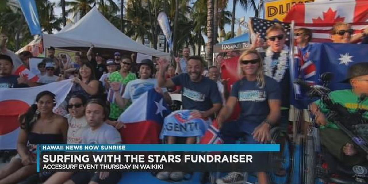 AccesSurf announces first-ever Surfing with the Stars Fundraiser