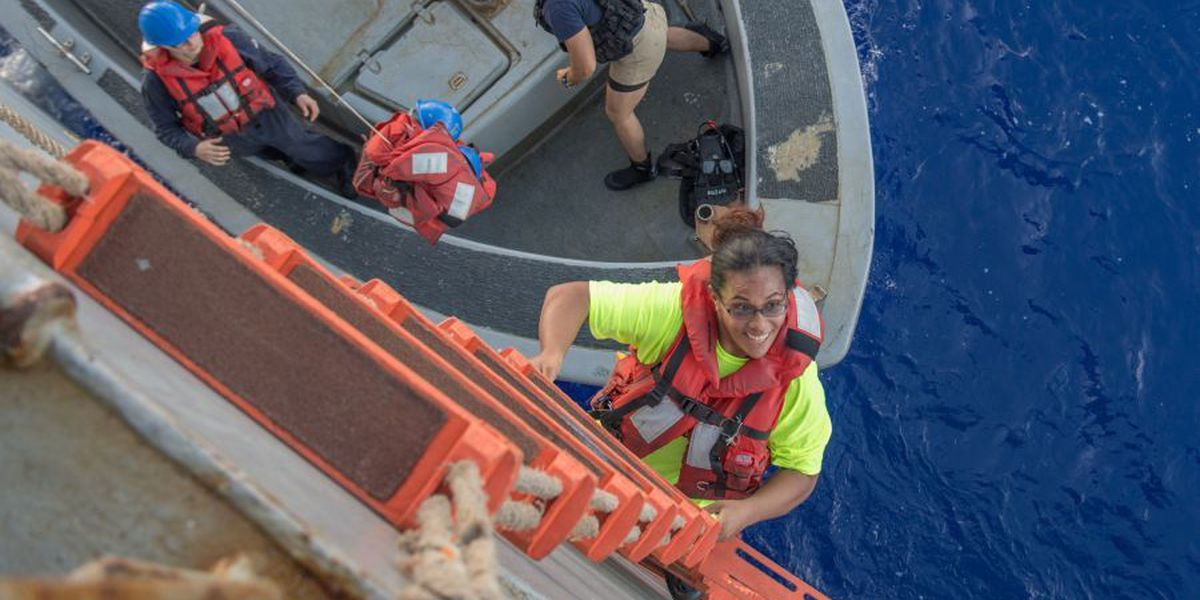 Women rescued by Navy defend their account of ordeal at sea