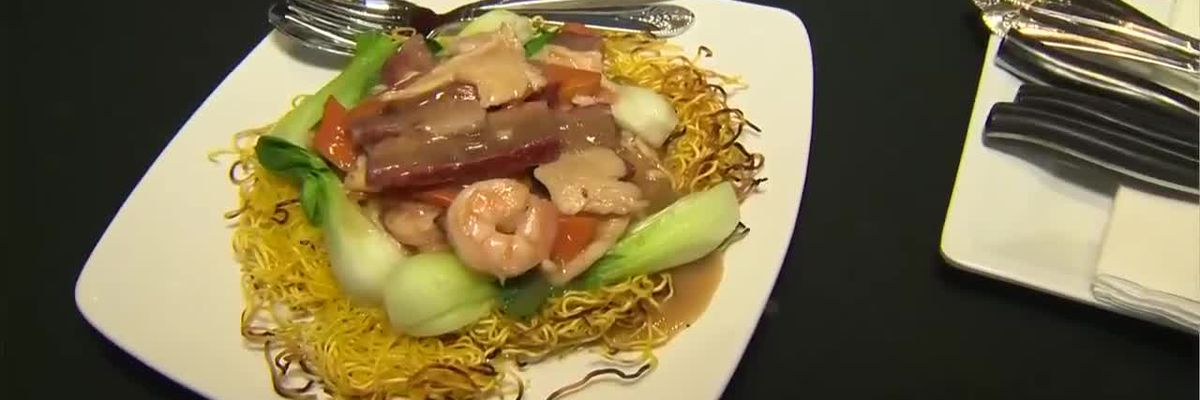 Two restaurants serve authentic cuisines at California Hotel