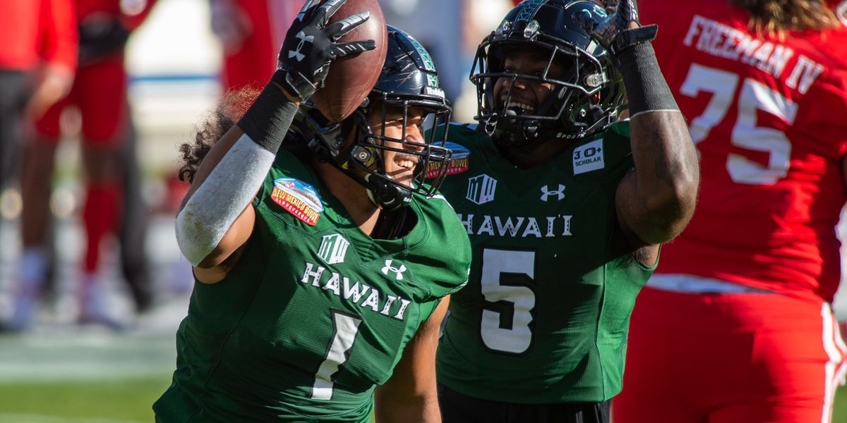 Hawaii dominates Houston, 28-14 in New Mexico Bowl