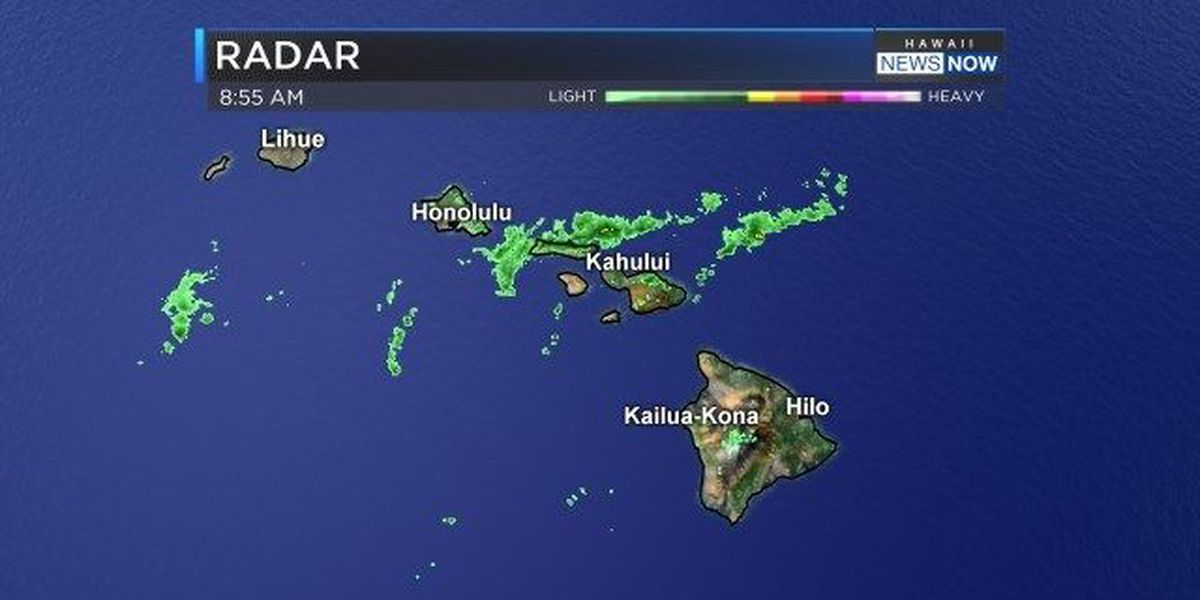 Forecast: Front could keep wet weather over Maui, Big Island for Mother's Day