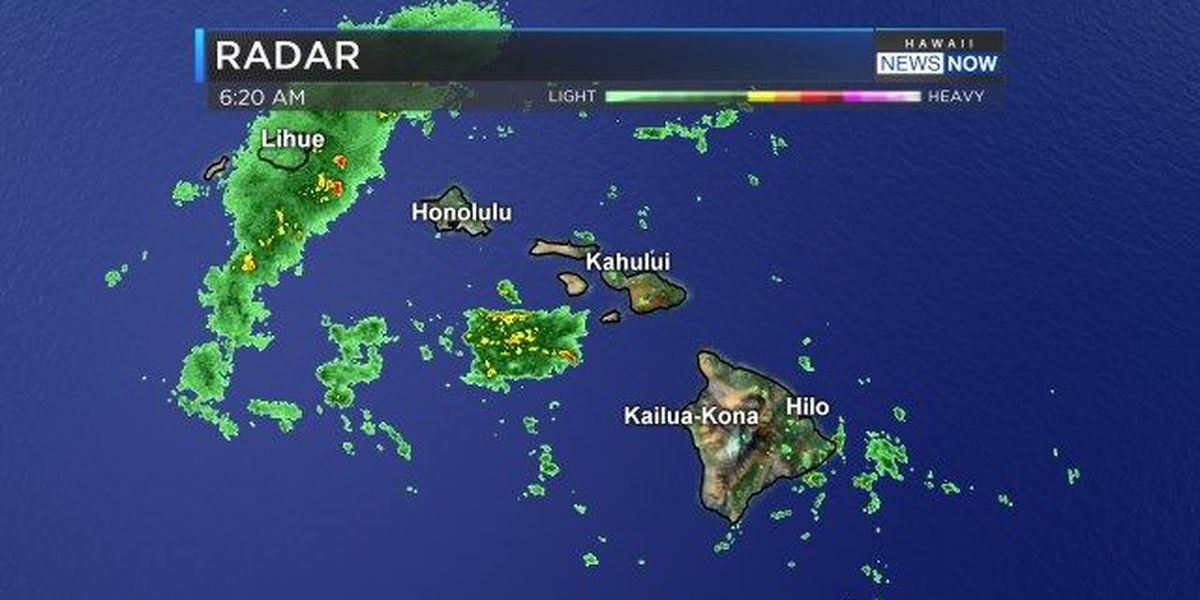 Forecast: Unstable weather starts with Kauai, then will spread to the rest of the state