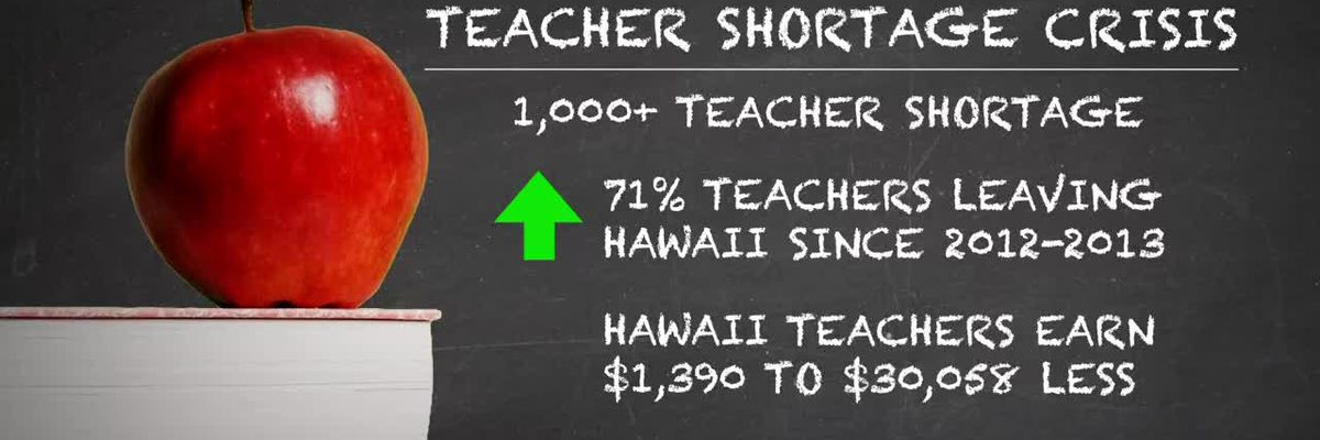 As teacher shortage grows, those who've left say it's easy to see why