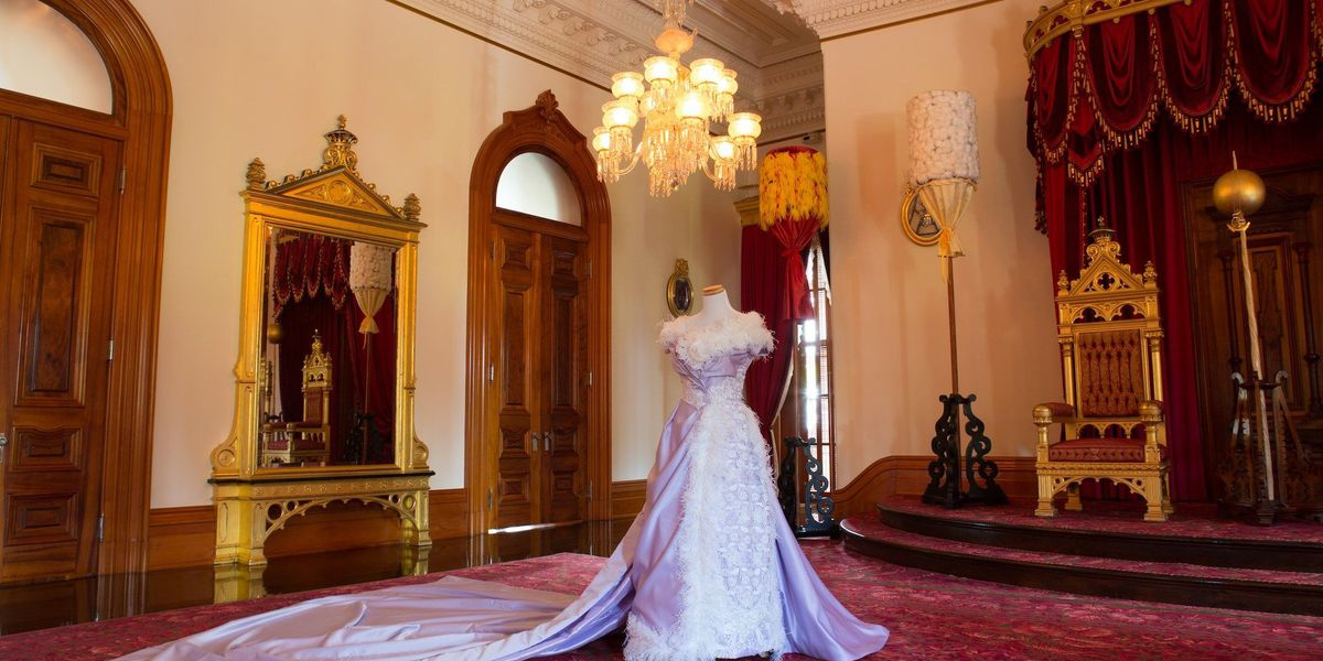 Reproduction of Queen Liliuokalani gown to go on display