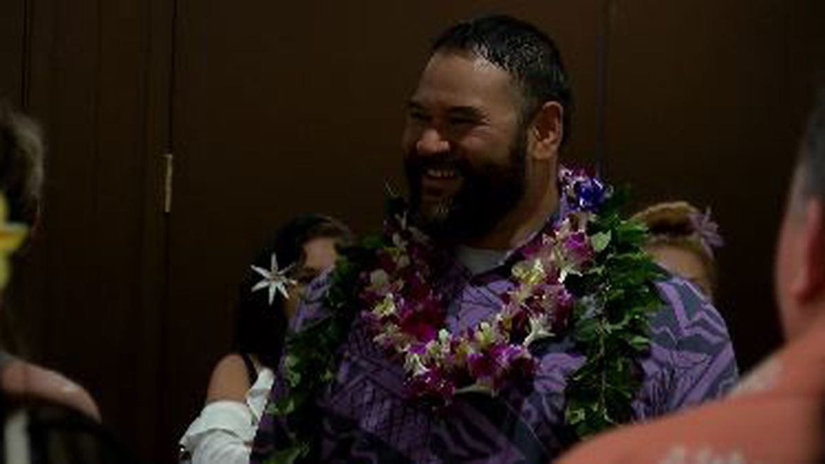 NFL, college, and prep stars honored at Polynesian Hall of Fame banquet