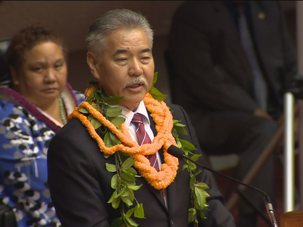 Ige expected to outline his economic recovery plan in State of the State